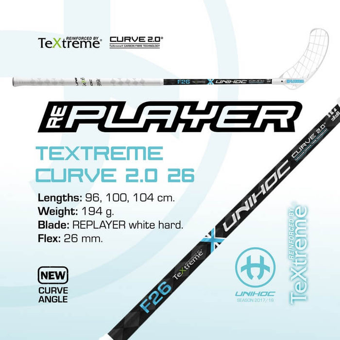REPLAYER TeXtreme Curve 2.0 2.6 White/Blue