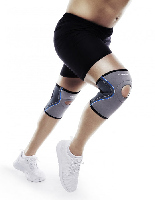 Knee support with patellar opening - XL