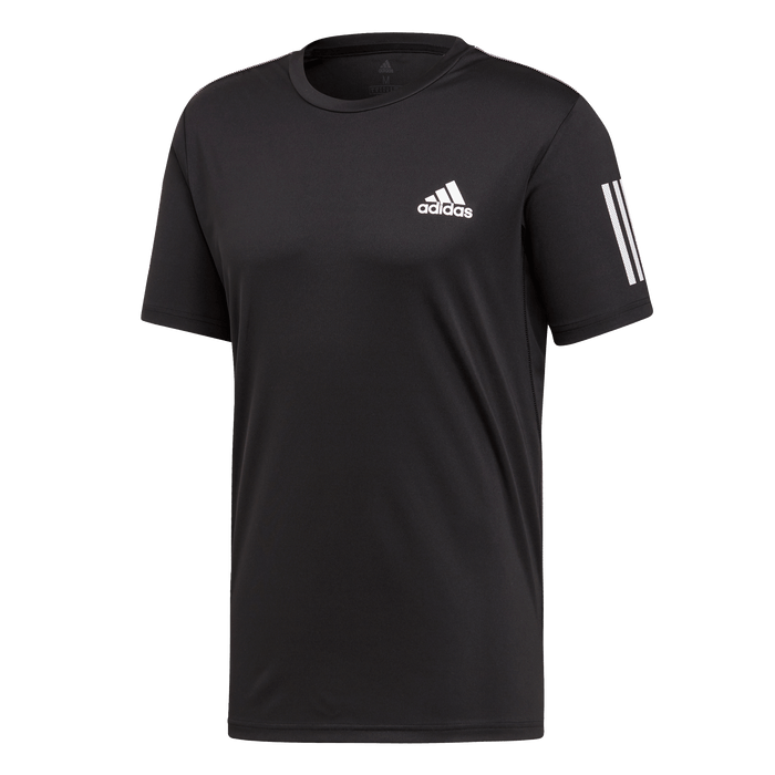 Adidas Padeltröja Club 3 Stripes Black
