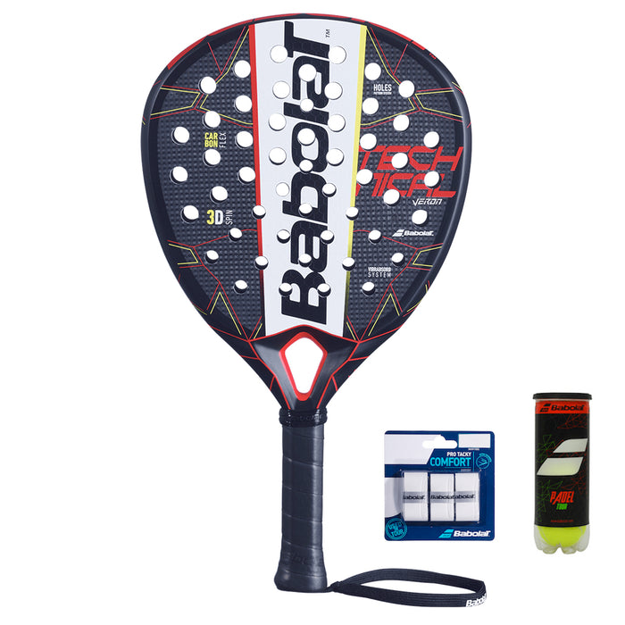 Veron Technical 2021 + 3-pack Overgrip + Padel Tour