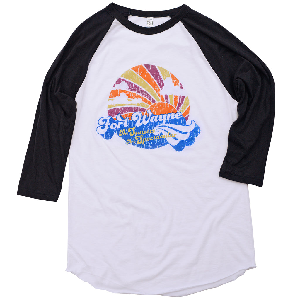 Fort Wayne Sunsets Baseball Tee