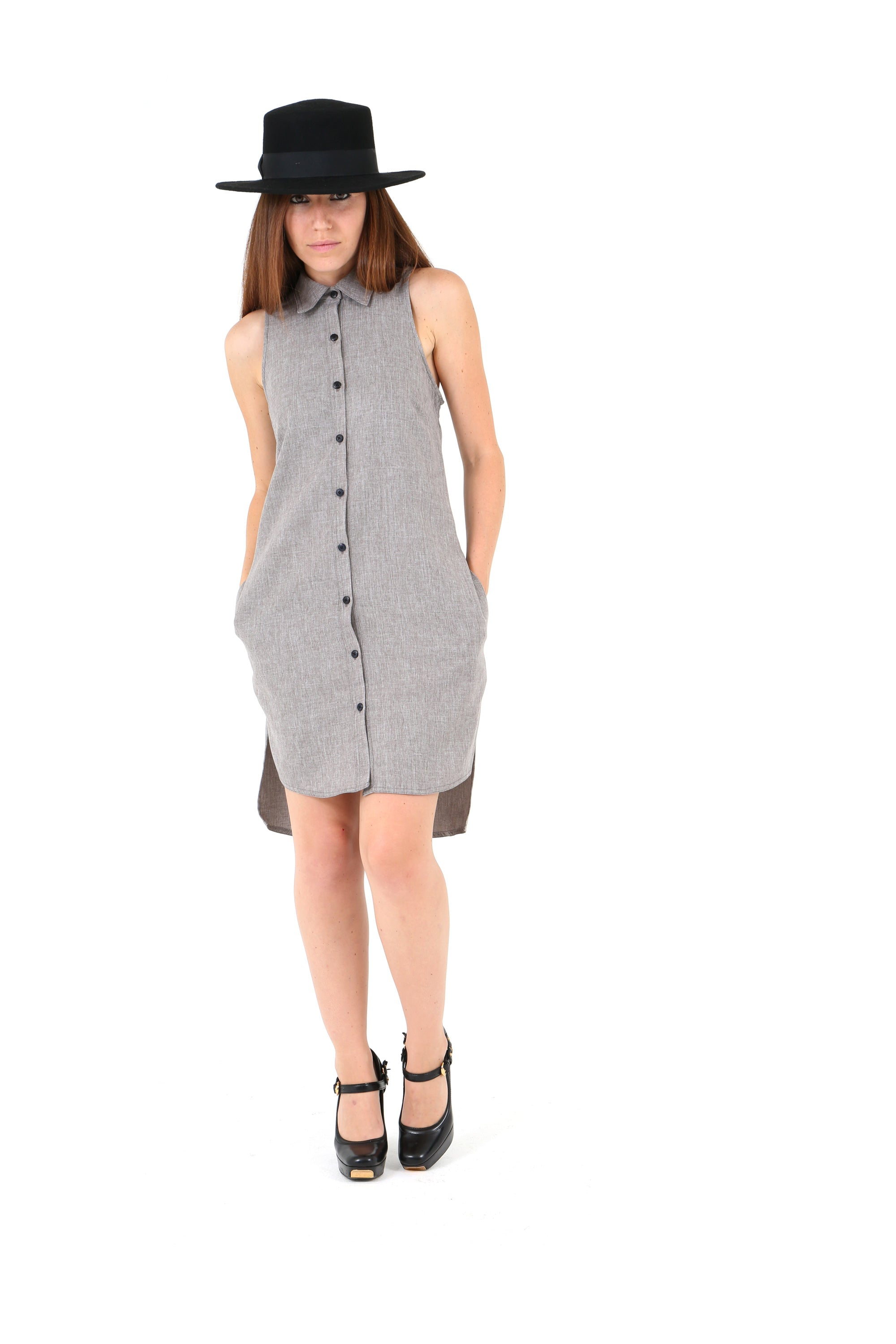 Auric Shifting Shirt Dress