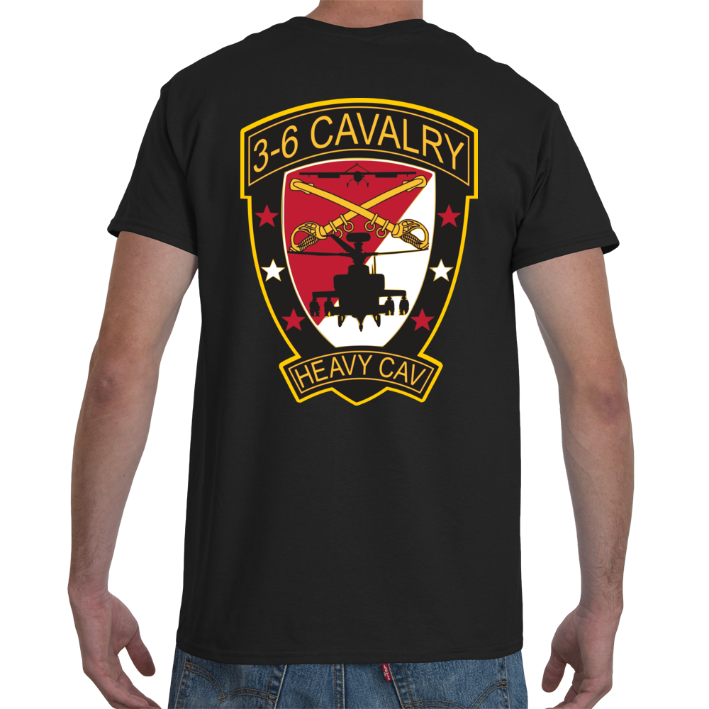 3-6 Cavalry Spur Holder Tee