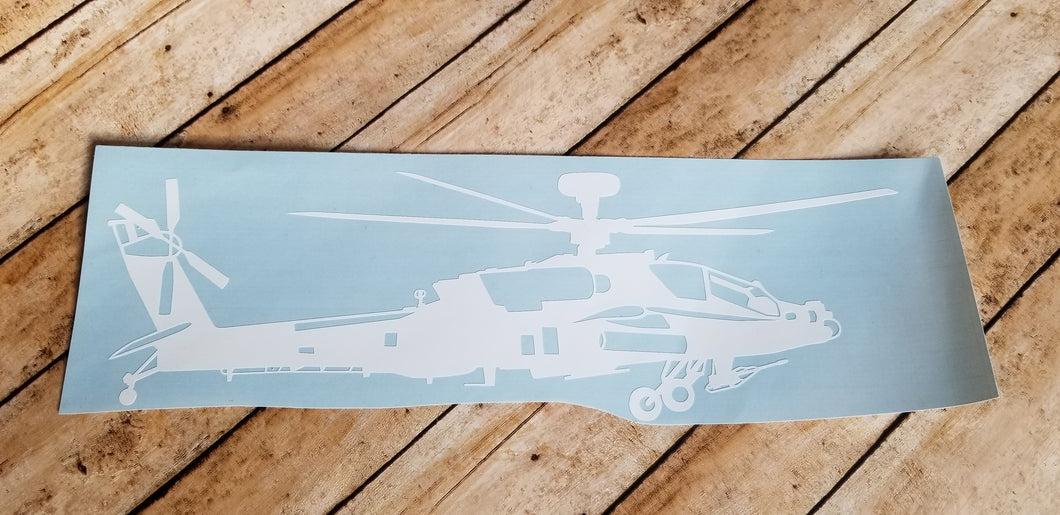AH-64 Vinyl Decal