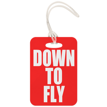 Down To Fly Luggage Tag (Red)