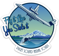 Fly It Like You Stole It Sticker