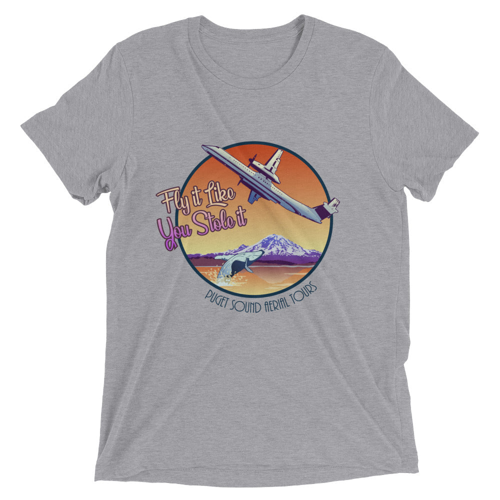 Fly It Like You Stole It (Puget Sound Aerial Tours) Tee