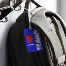 I Heart Bag Handlers Luggage Tag