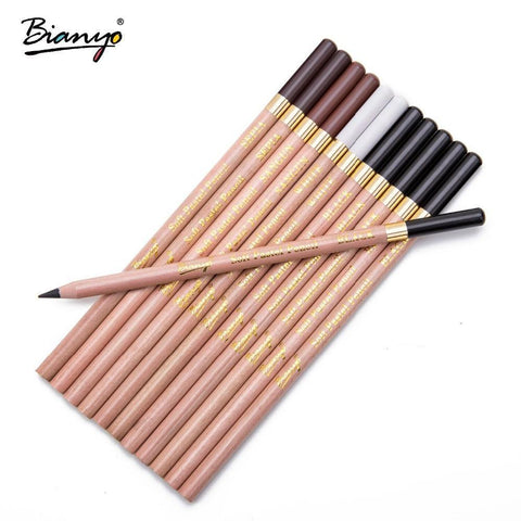 E-smarty pen Bianyo 12 Pcs/Box Artist Soft Pastel Pencils