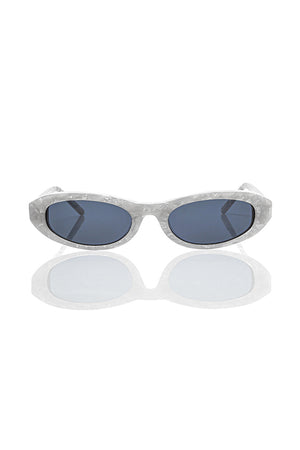 White Baby Betty - Cat Eye Sunglasses