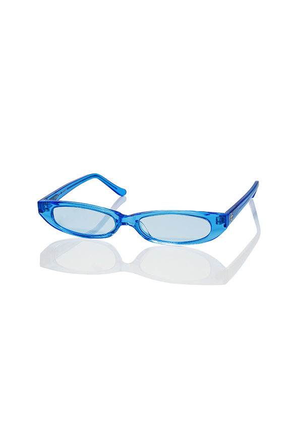 Blue Frances - Thin Sunglasses
