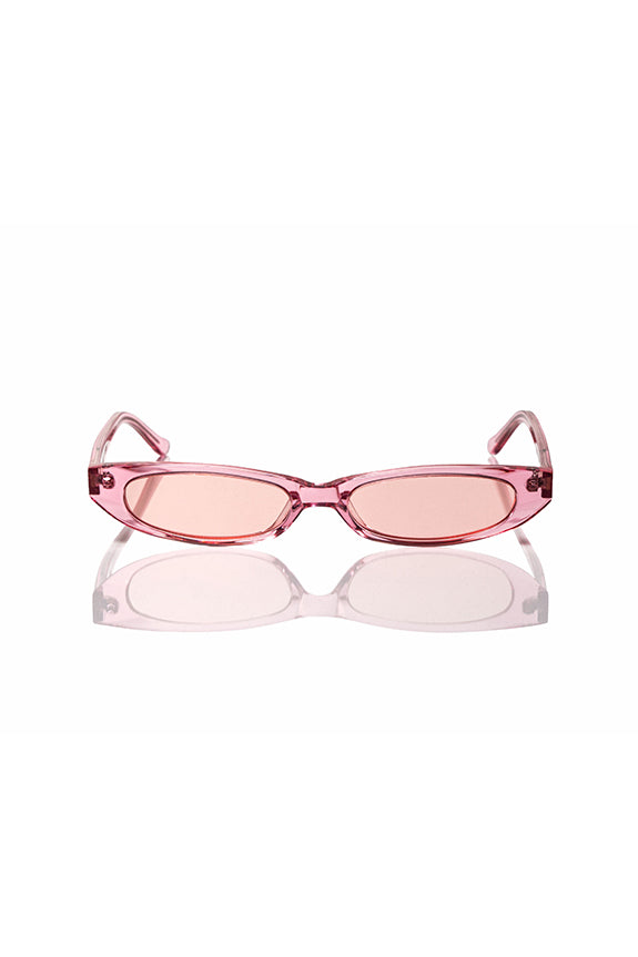 Pink Frances - Thin Sunglasses