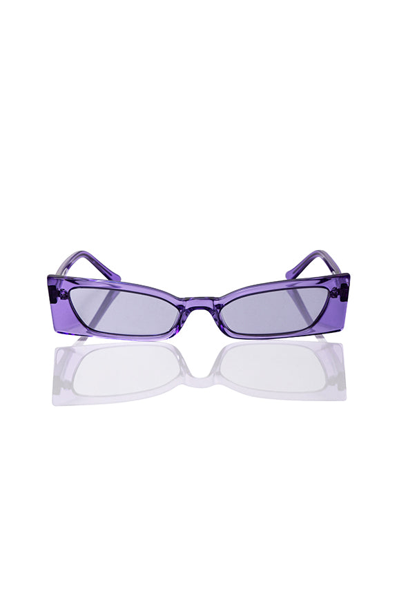 Purple Geraldine - Bow Tie Sunglasses