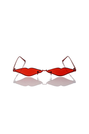 RF X KNC II - Red Lip Sunglasses