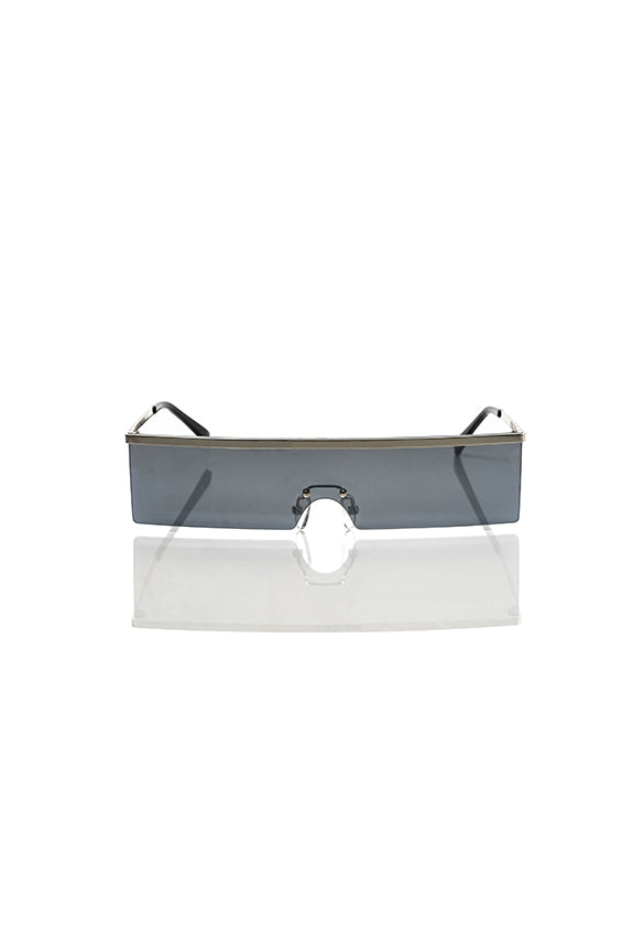 Silver Margaret - Shield Sunglasses