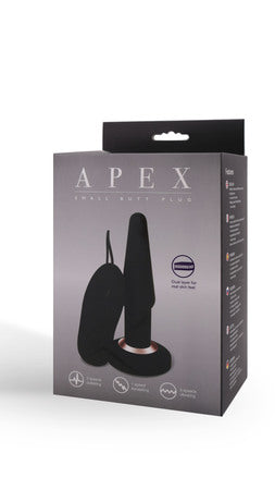 Apex Butt Plug Small (Black)