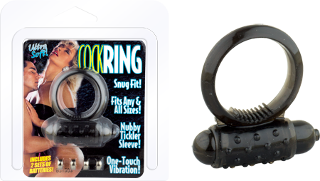 Ultra Soft Cockring (Black)