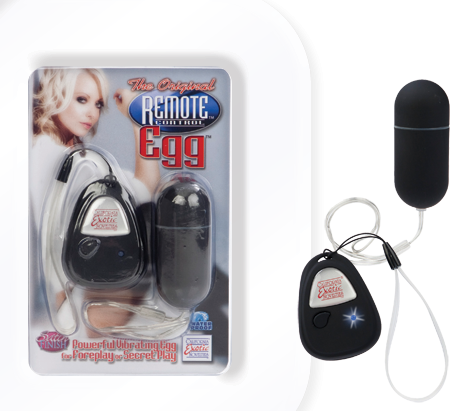 The Original Remote Control Egg (Black)