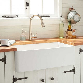 Fireclay Farmhouse Kitchen Sinks