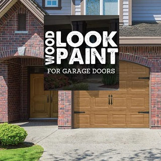Wood Look Garage Door Paints