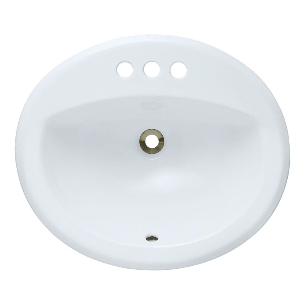 P8102OW Overmount Bathroom Sink