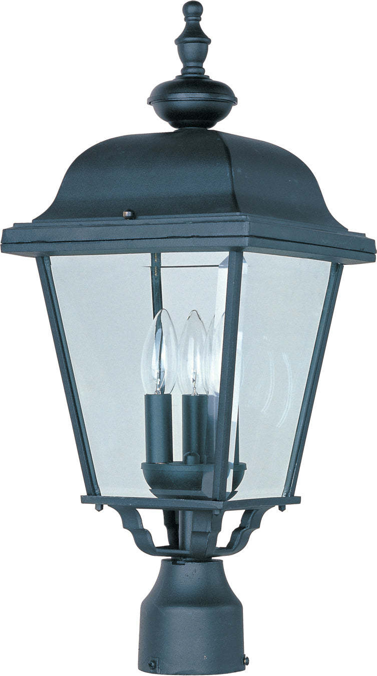 Builder Cast 3-Light Outdoor Pole/Post Lantern