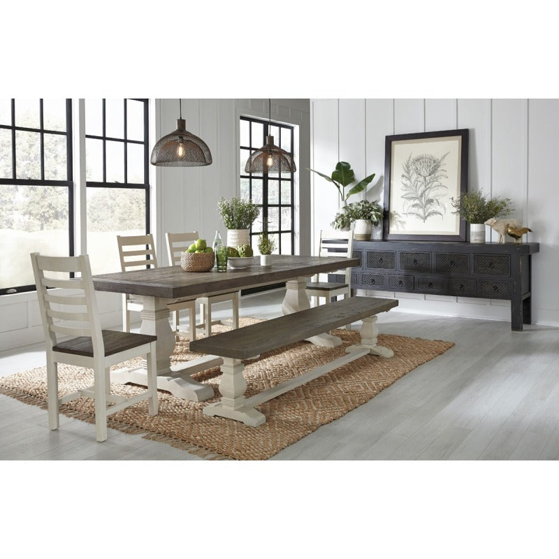 Caleb Dining Chair Two Tone EV Set of Two