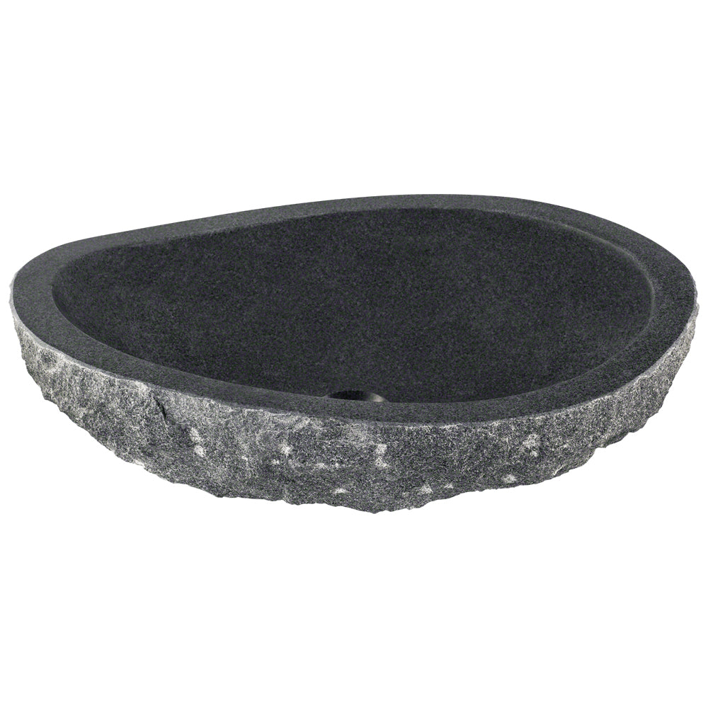 P668 Impala Black Granite Vessel Sink