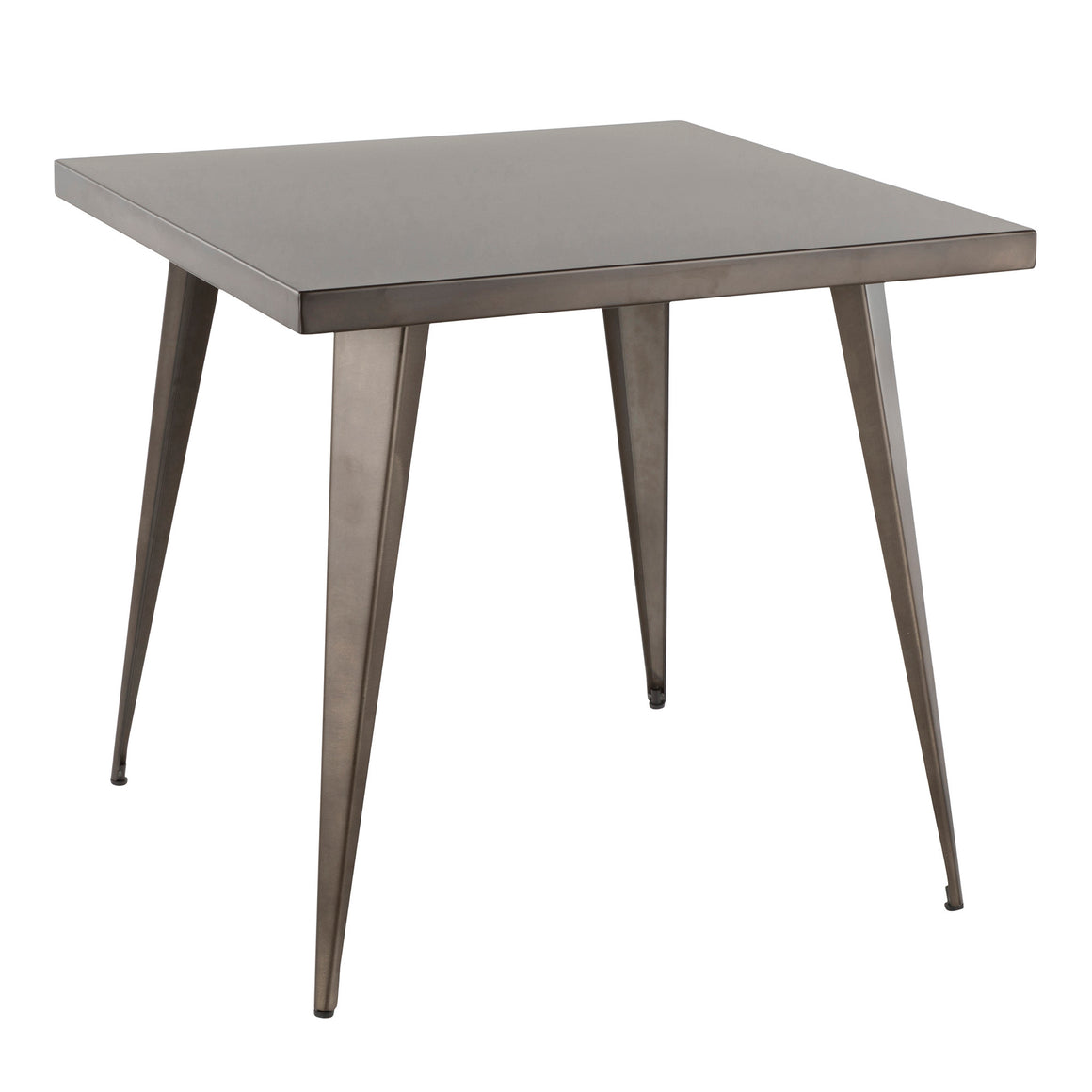 Austin Industrial Dining Table in Antique by LumiSource
