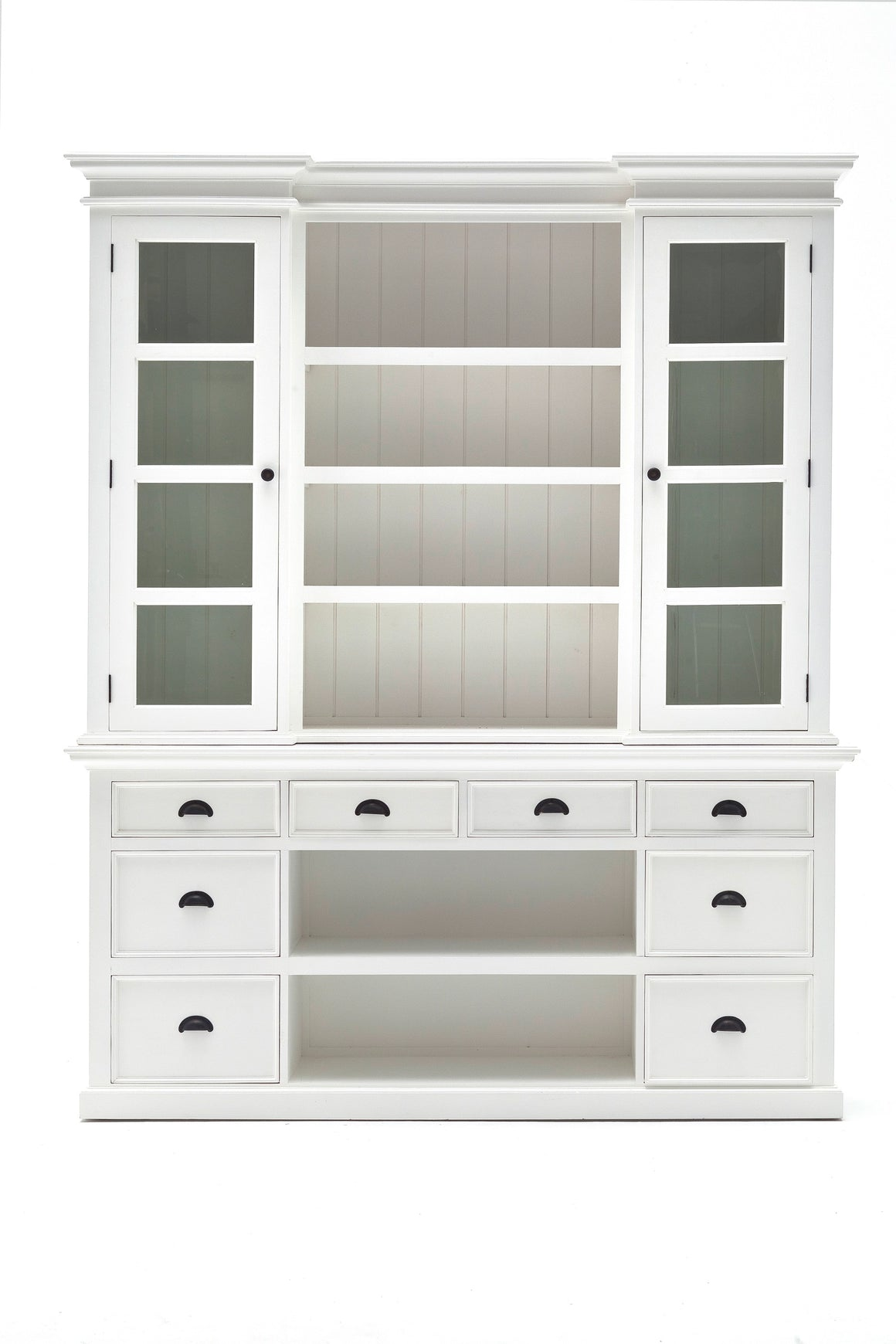 Halifax BCA600 Library Hutch With Basket Set