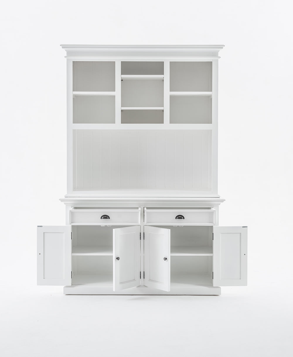 Halifax Buffet Hutch Unit with 2 Adjustable Shelves