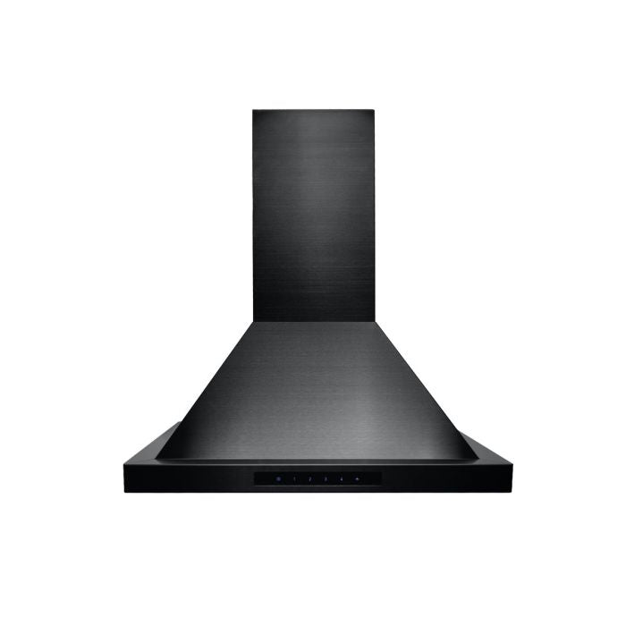 ZLINE 24 IN. 760 CFM WALL MOUNT RANGE HOOD IN BLACK STAINLESS STEEL (BSKBN-24)