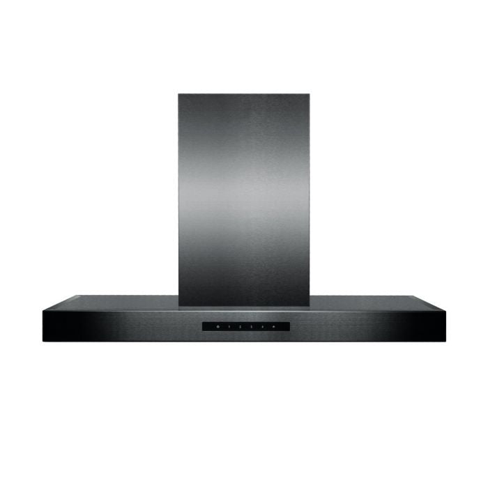 ZLINE 36 IN. 760 CFM ISLAND MOUNT RANGE HOOD IN BLACK STAINLESS STEEL (BSKE2IN-36)