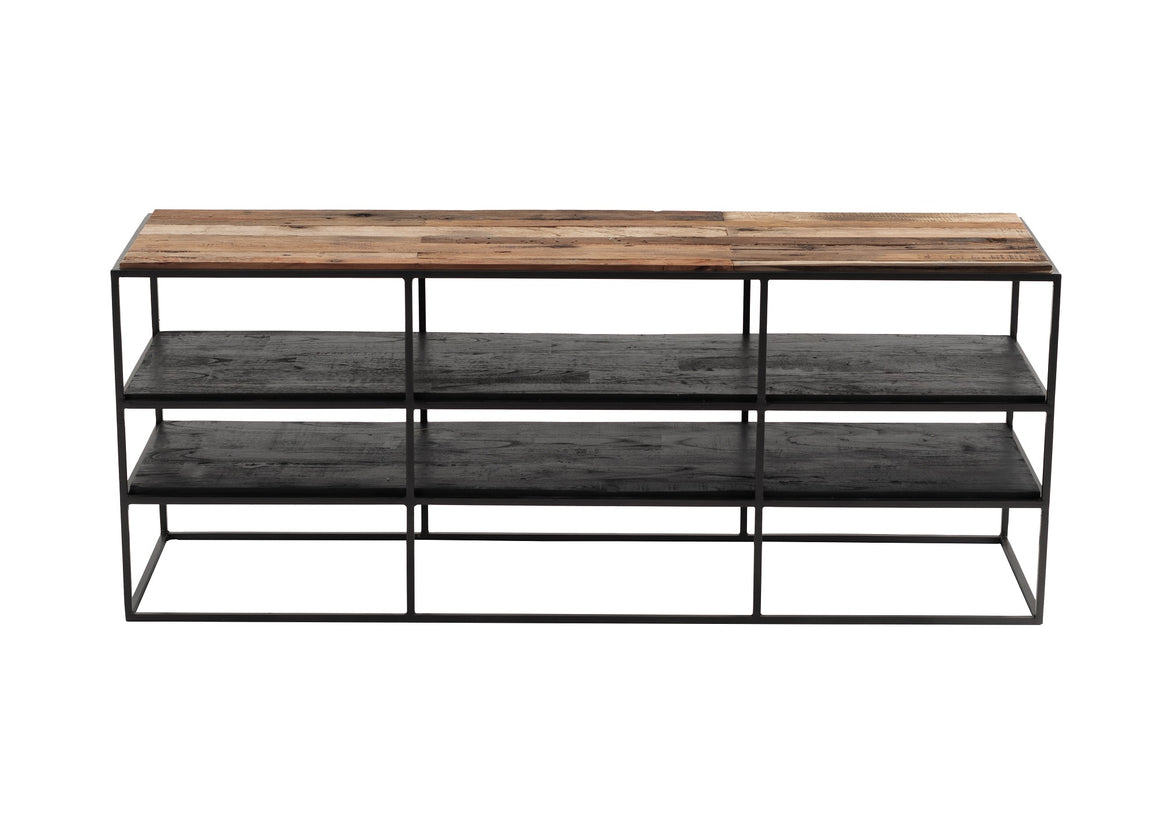 Rustika TV Stand Open Shelving 140cm