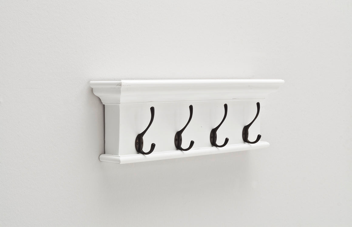 Halifax D160 4-Hook Coat Rack