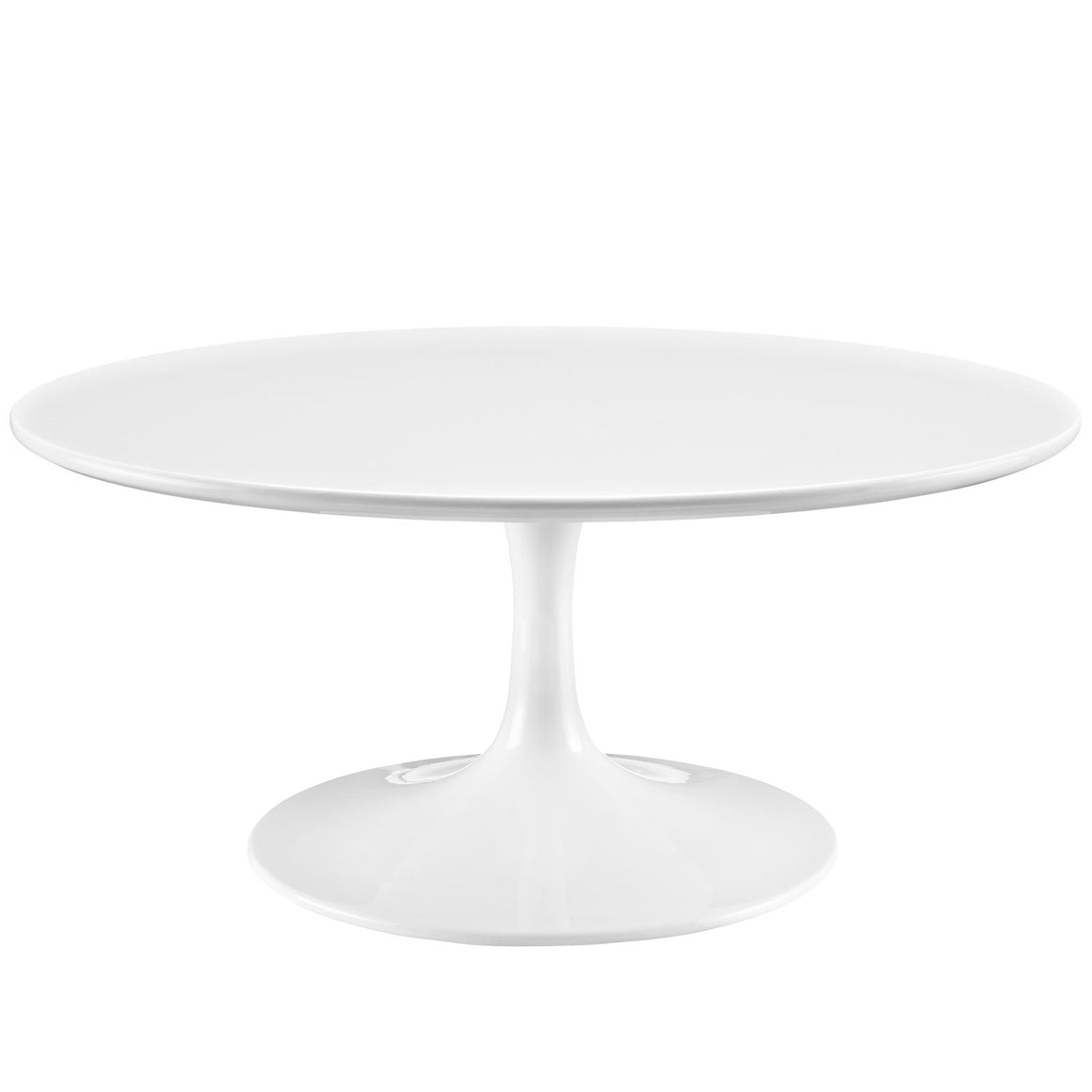 "LIPPA 36"" COFFEE TABLE IN WHITE"