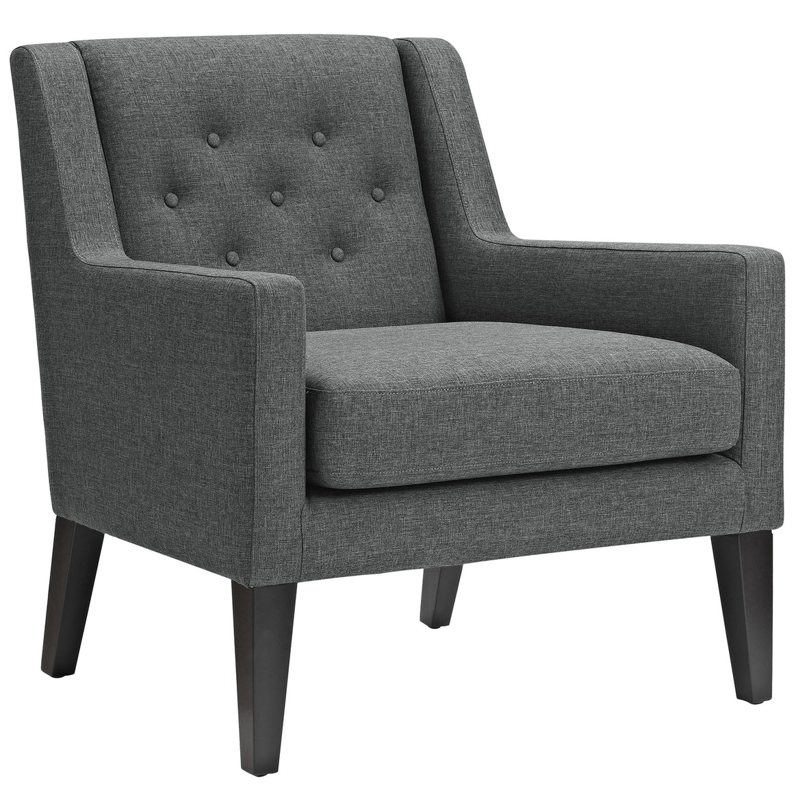Earnest Upholstered Fabric Armchair