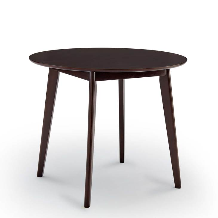 "Vision 35"" Round Dining Table in Cappuccino"