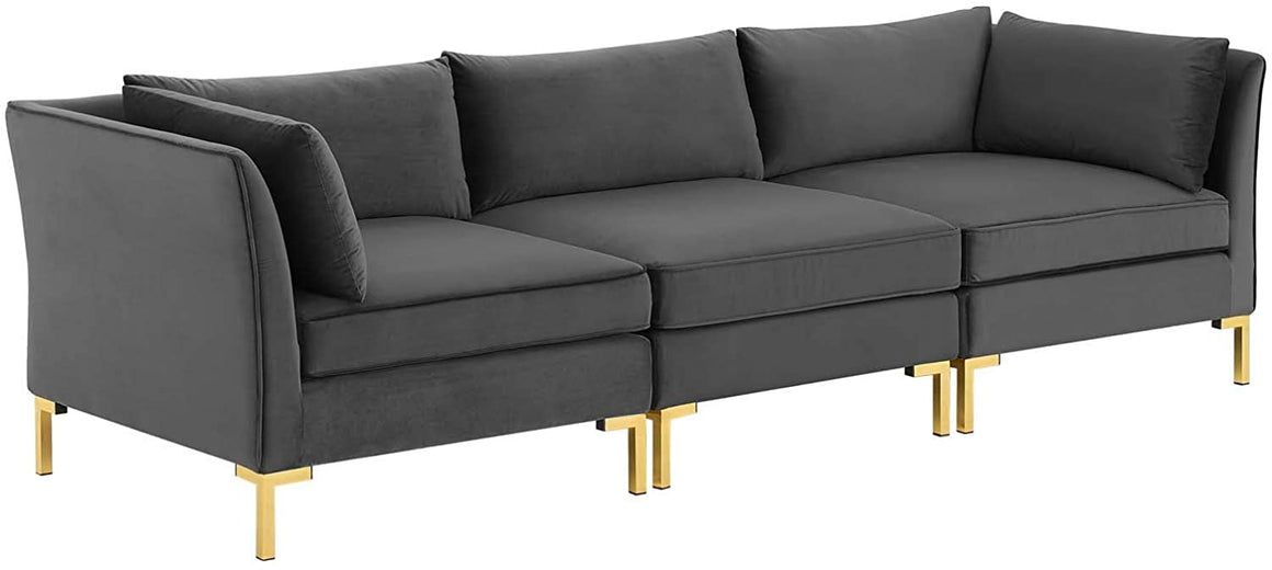 Ardent Performance Velvet Sofa