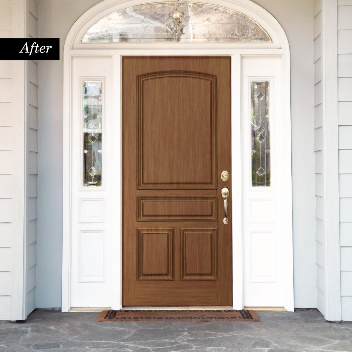Giani English Oak Wood Look Kit for Front Doors