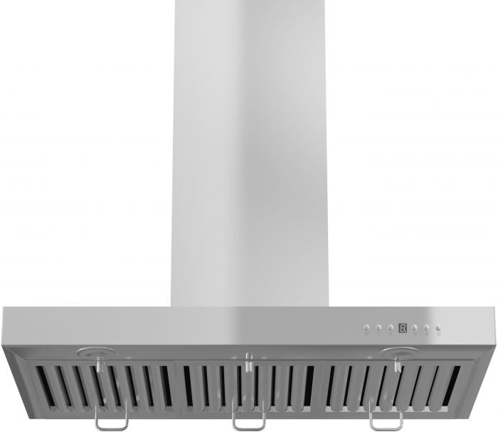 ZLINE 30 in. 760 CFM Wall Mount Range Hood in Stainless Steel with Crown Molding (KECRN-30)