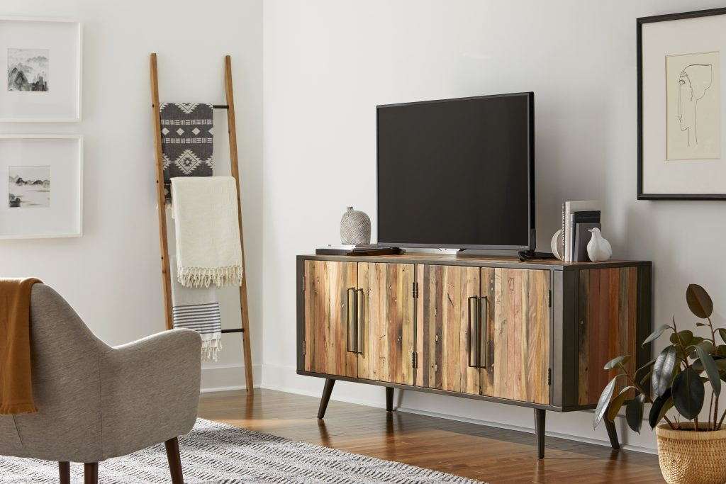 Nordic TV Dresser with 4 Doors