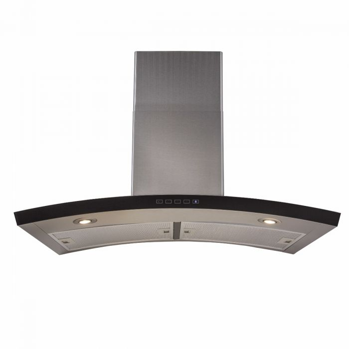 ZLINE 30 in. 760 CFM Wall Mount Range Hood in Stainless Steel & Glass (KN6-30)
