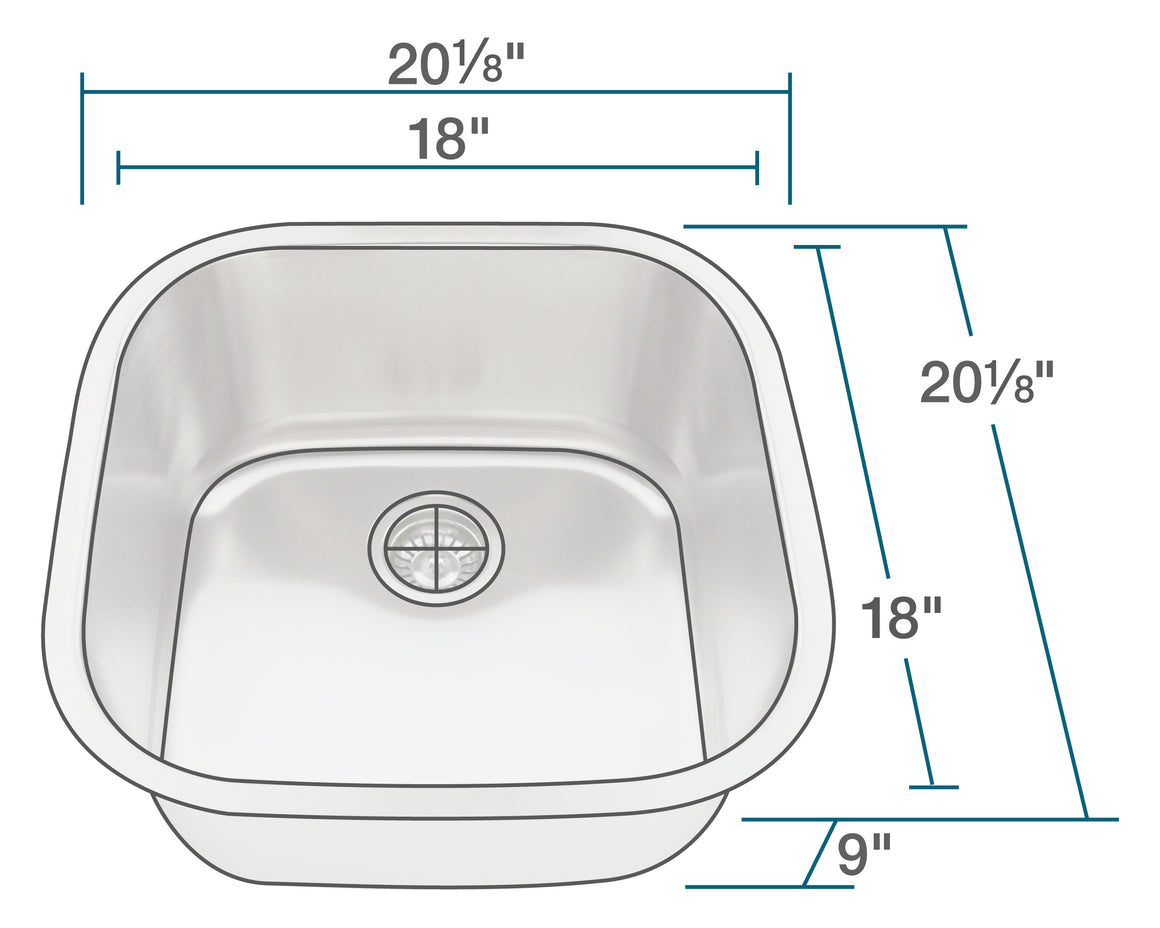 P0202 Stainless Steel Sink