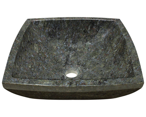 P758 Butterfly Blue Granite Vessel Sink