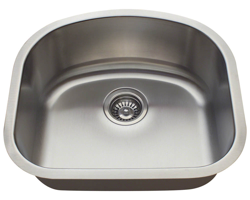 P812 D-Bowl Stainless Steel Sink