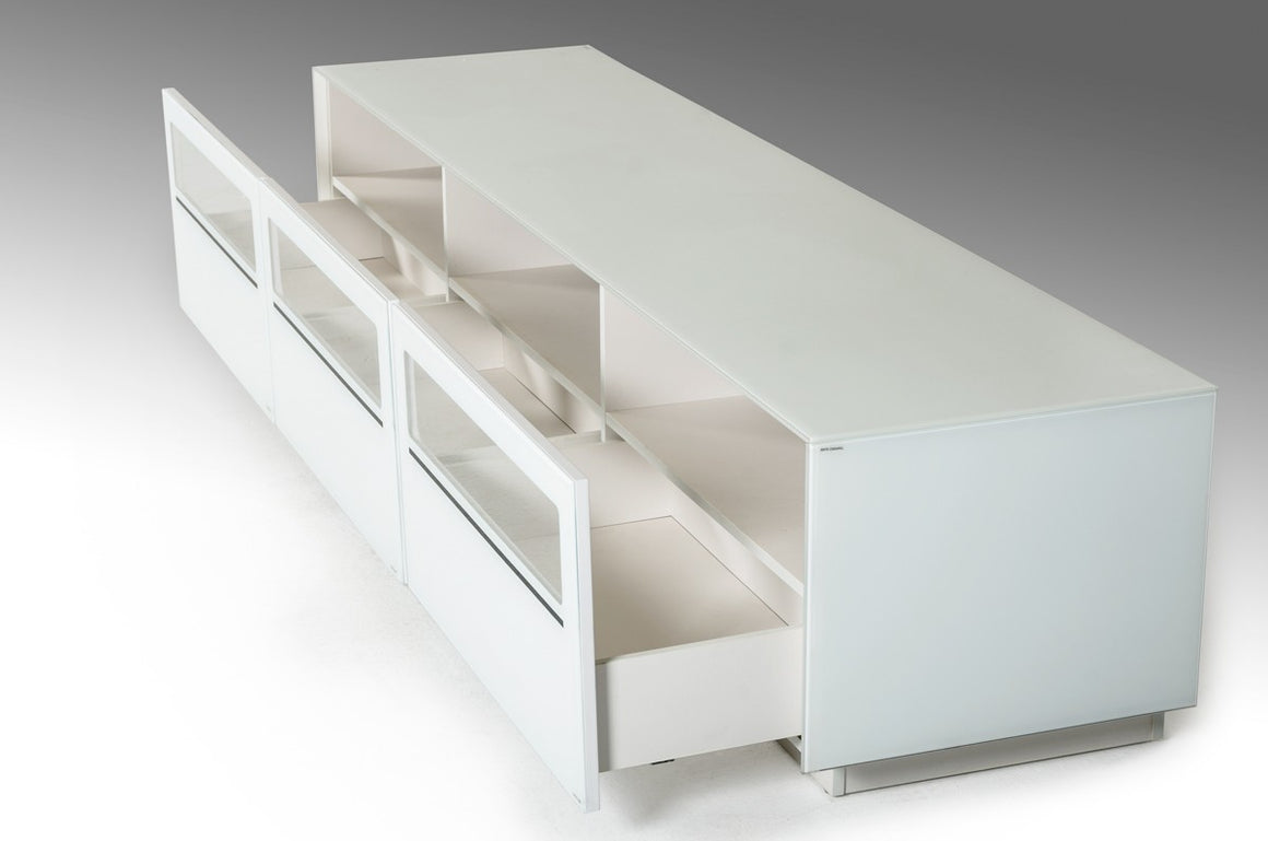 Modrest Landon Contemporary White TV Stand
