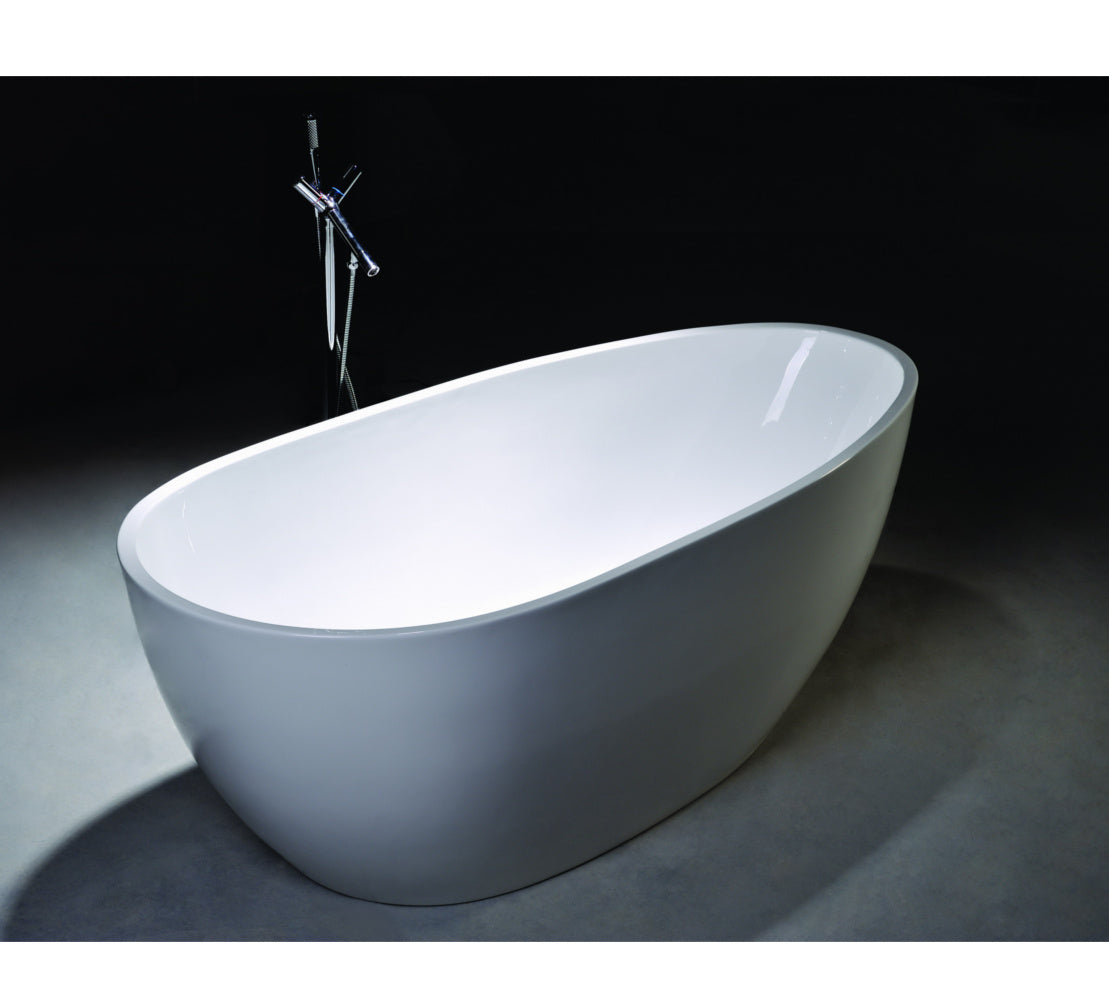 "Legion Furniture WE6515 67"" Acrylic Bathtub"