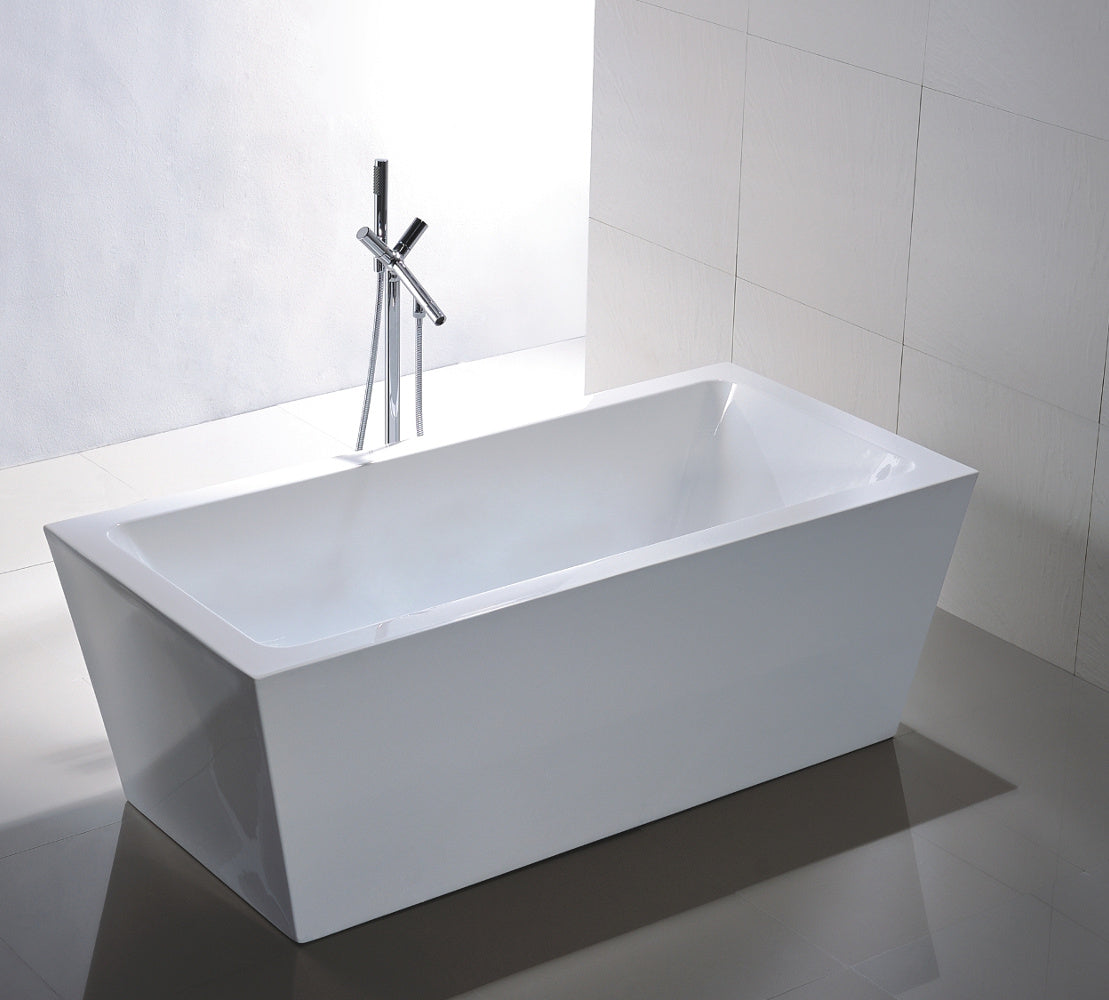 "Legion Furniture WE6814 67"" Acrylic Bathtub"