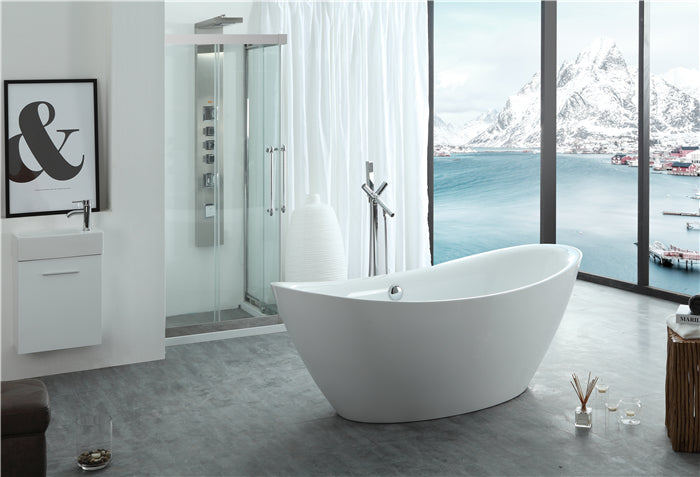 "Legion Furniture WE6842 71"" Acrylic Bathtub"